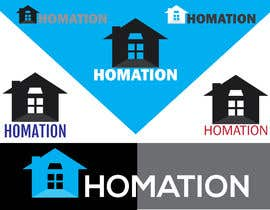 "#784 для ""Homation""Visual Identity System VIS от SAsarkar"