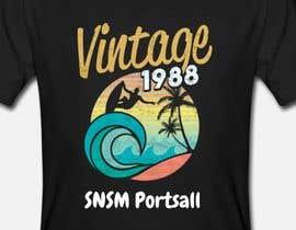 Nro 76 kilpailuun Design a vintage/retro surf style t-shirt käyttäjältä aga5a33a4b358781