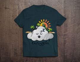 #16 untuk T-Shirt Design (Cloud with a face + little stick figure with skateboard) oleh ferdousisultana2