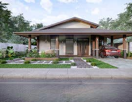 Nro 44 kilpailuun Exterior simple house 3D design (03 views) käyttäjältä lalaspau