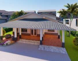 Nro 24 kilpailuun Exterior simple house 3D design (03 views) käyttäjältä Sarmad1214