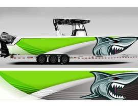 Nro 6 kilpailuun Graphic design for boat wraps käyttäjältä DikaWork4You