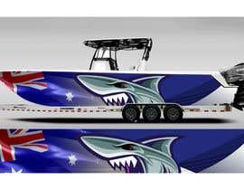 Nro 25 kilpailuun Graphic design for boat wraps käyttäjältä DikaWork4You
