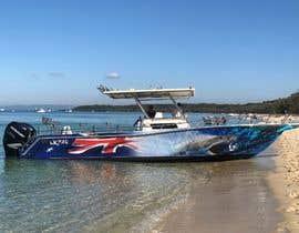 Nro 18 kilpailuun Graphic design for boat wraps käyttäjältä muaazbintahir