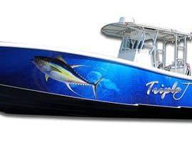 Nro 24 kilpailuun Graphic design for boat wraps käyttäjältä muaazbintahir
