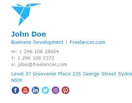 #87 for Create an Email Signature for Freelancer.com by kolposl