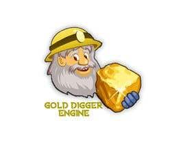 Nro 6 kilpailuun Logo: Gold Digger Engine käyttäjältä somnathiglesias