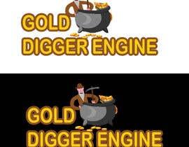 Nro 24 kilpailuun Logo: Gold Digger Engine käyttäjältä mrameez3939