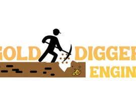 Nro 23 kilpailuun Logo: Gold Digger Engine käyttäjältä MadeehaAnsari66