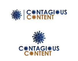 Nro 42 kilpailuun Contagious Content Logo Design käyttäjältä babitakumawat