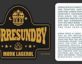 Nro 4 kilpailuun Beer labels (6) käyttäjältä vividpixels76