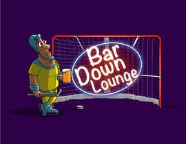 #10 for Illustrate Something for a Bar Down Lounge logo by kunjanpradeep