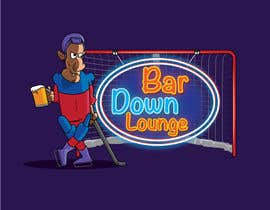 #11 for Illustrate Something for a Bar Down Lounge logo by kunjanpradeep