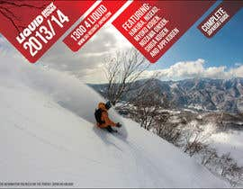 #111 for Front cover design for Japan ski brochure by NexusDezign