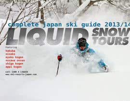 #34 for Front cover design for Japan ski brochure af jldavies0612