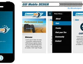 #8 for Graphic Design *** GUI USING CSS & HTML ONLY **** MOBILE & WEBSITE MUST INCLUDE COMPANY LOGO by Mizadesigner
