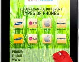 #24 for Design an IPhone look mouse pad by AlenaPolyah