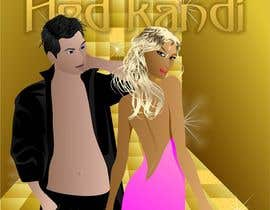 "doarnora tarafından ""Hed Kandi"" GLAMOUROUS style design for dating mobile application ICON for iPHONE için no 4"