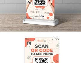 #26 for QR Code Menu by TamzT10