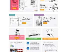 #40 for Design a Website Mockup for www.mbcg.be by davidnalson