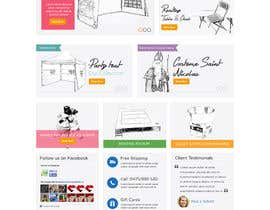 #43 for Design a Website Mockup for www.mbcg.be by davidnalson