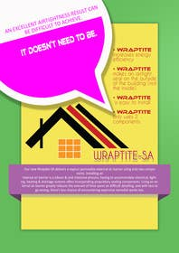 #10 cho Design an Advertisement for Wraptite Airtightness Advert bởi w21