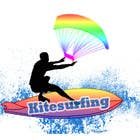Graphic Design Konkurrenceindlæg #3 for Logo Design for kitesurf website