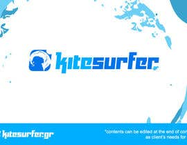 #56 cho Logo Design for kitesurf website bởi rahmounanas