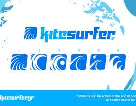 #82 for Logo Design for kitesurf website af rahmounanas