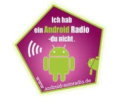 #11 untuk Entwurf eines Aufklebers / Stickers für eine Kampagner oleh MadaU
