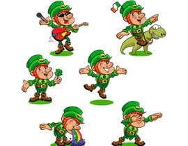 #27 for Clip art leprechaun cartoons by orrlov