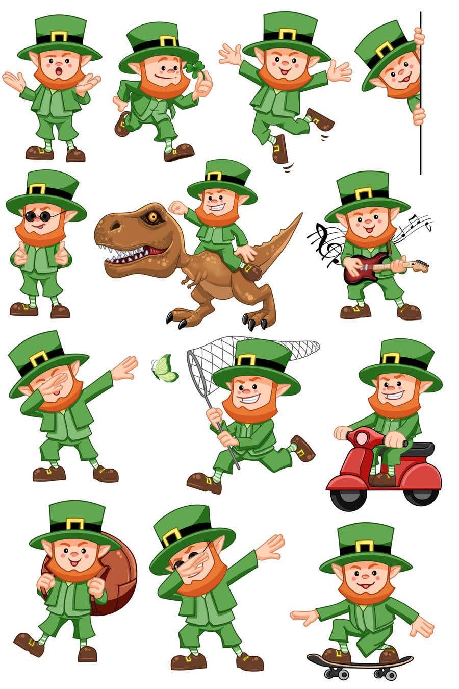 Contest Entry #                                        28                                      for                                         Clip art leprechaun cartoons