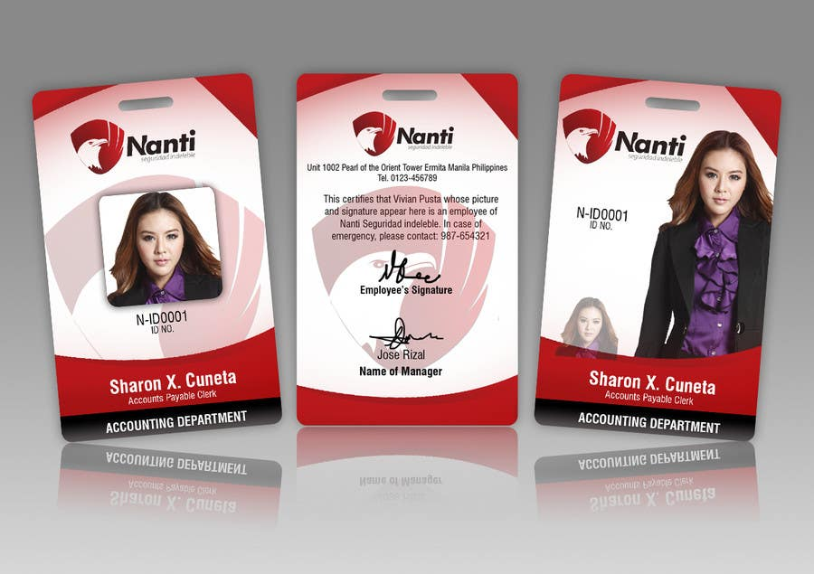 Inscrição nº 28 do Concurso para ID Badge for Nanti System