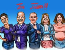 #76 для Caricature a Team от andrei01cata