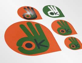 """Nro 15 kilpailuun Design hand with """"ok sign"""" käyttäjältä captjake"""