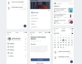 #38 cho Mobile App Re-Design 4-6 Screens bởi directbydimas