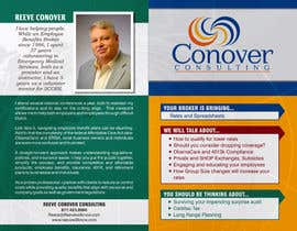 #49 for Design a Brochure for Conover Consulting by pbcates25