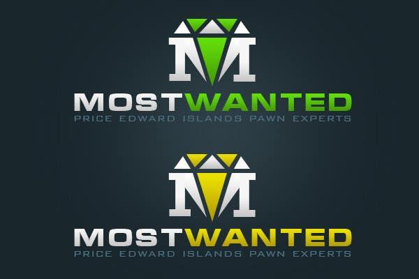 Kilpailutyö #41 kilpailussa Logo Design for Most Wanted Jewelry & Pawn
