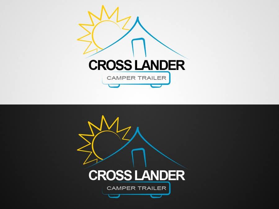 Contest Entry #                                        37                                      for                                         Logo Design for Cross Lander Camper Trailer