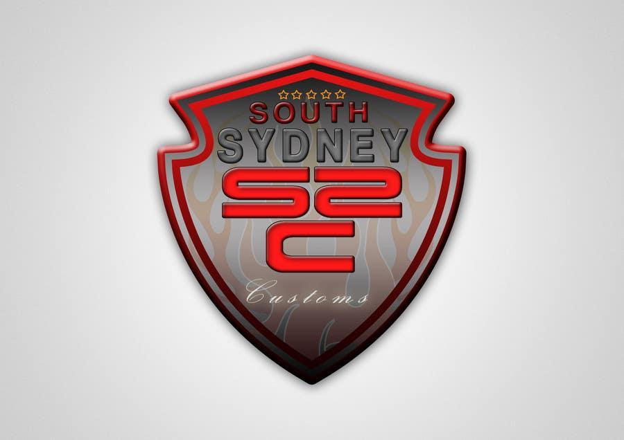 Proposition n°                                        11                                      du concours                                         Logo Design for South Sydney Customs (custom auto spray painter)