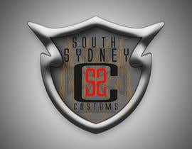 #16 para Logo Design for South Sydney Customs (custom auto spray painter) por fingal77