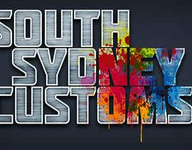 #27 para Logo Design for South Sydney Customs (custom auto spray painter) por Christina850