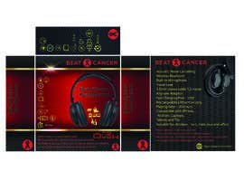 #13 для Beat Cancer - Headphones Box Design от boskomp