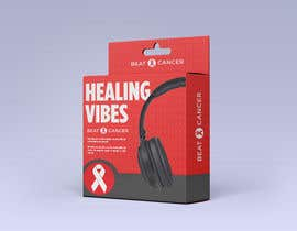 #3 для Beat Cancer - Headphones Box Design от DannyIttoEzzo