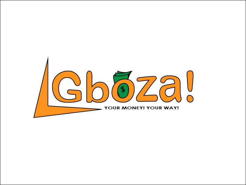 Kilpailutyö #66 kilpailussa Logo Design for Gboza!