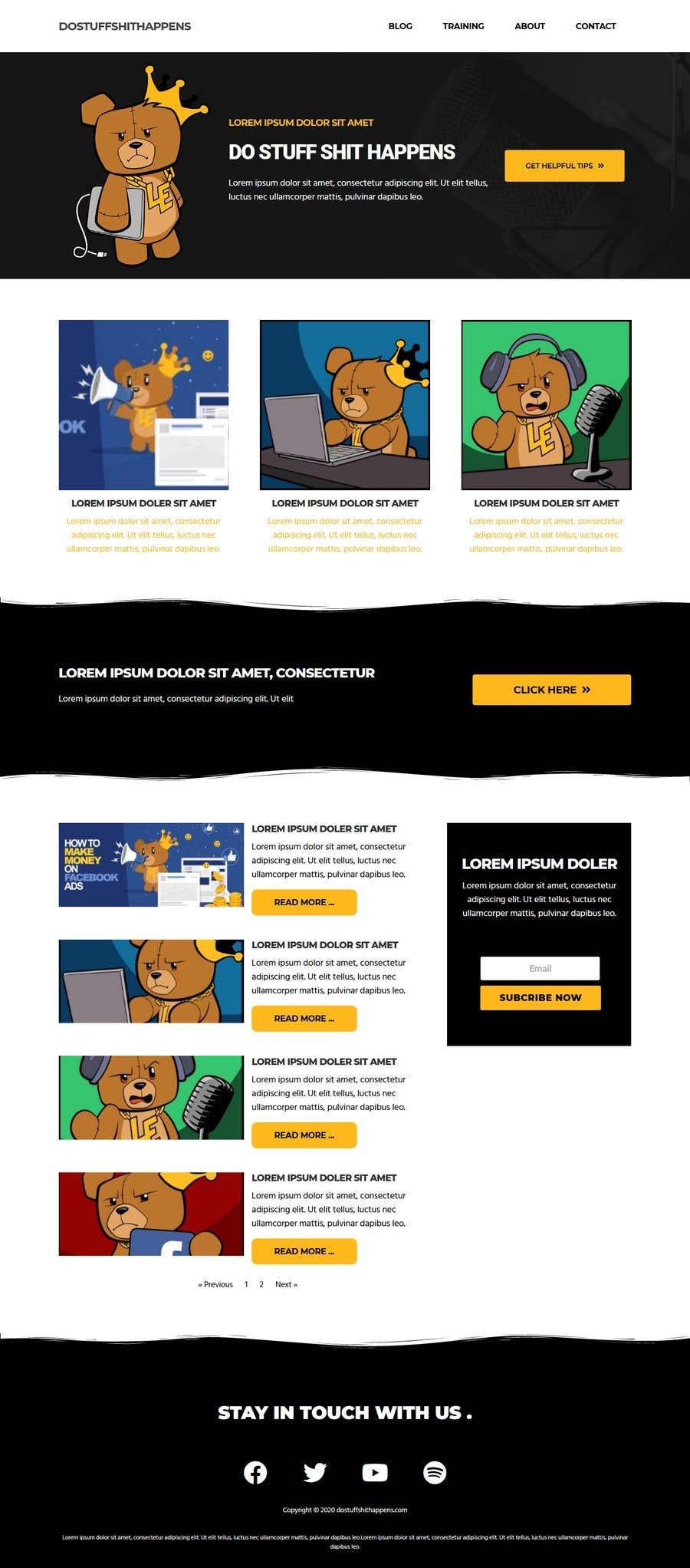 Penyertaan Peraduan #                                        79                                      untuk                                         Design and build a Wordpress blog website