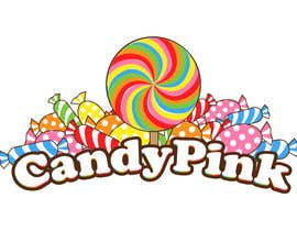 #44 para Logo Design for Candy Pink por vanv4n