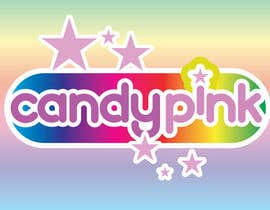 #57 para Logo Design for Candy Pink por stanbaker