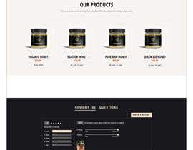 #72 cho Design a webpage for honey product bởi SK813