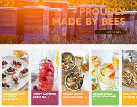 #64 cho Design a webpage for honey product bởi DeveloperWp360